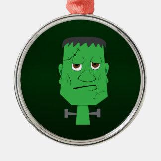 Frankenstein Decorative Ornament in Green