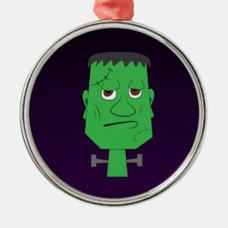 Frankenstein Decorative Ornament in Purple
