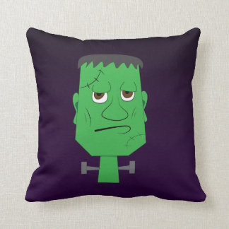 Frankenstein Decorative Pillow in Purple