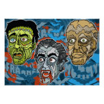 Frankenstein Dracula The Mummy Posters