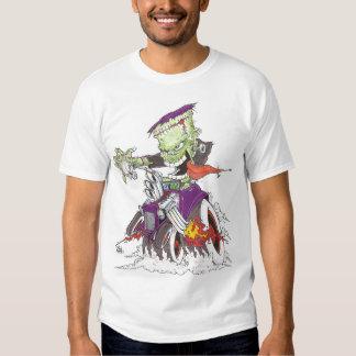 Frankenstein Drag Racing Shirt