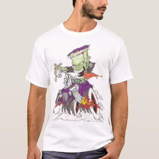 Frankenstein Drag Racing T-Shirt