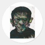 ¡Frankenstein! Etiqueta Redonda