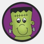 Frankenstein Etiqueta Redonda