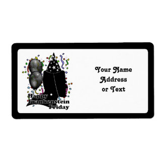 Frankenstein Friday Personalized Shipping Label