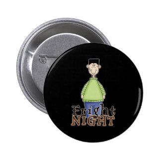 Frankenstein Fright Night Halloween 2 Inch Round Button