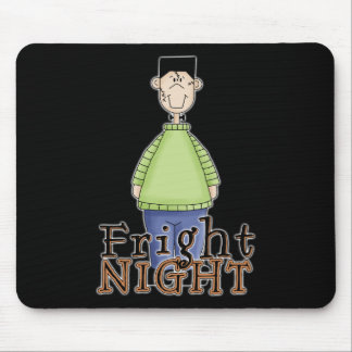 Frankenstein Fright Night Halloween Mouse Pad