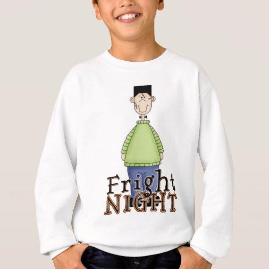 Frankenstein Fright Night Halloween Sweatshirt