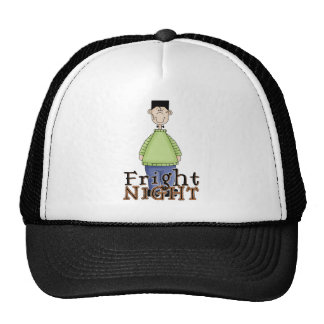 Frankenstein Fright Night Halloween Trucker Hat