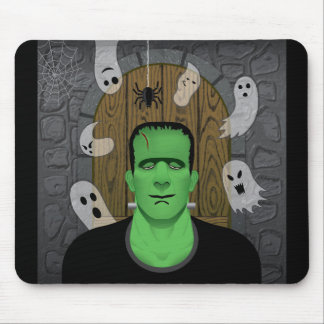 Frankenstein & Ghosts (Mousepad) Mouse Pad