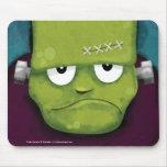 Frankenstein gruñón Halloween Mousepads