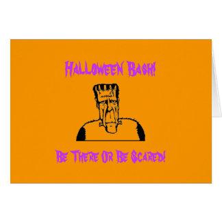 Frankenstein Halloween Bash! Card