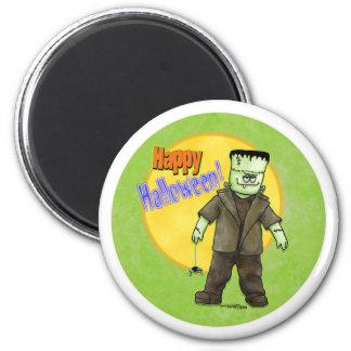 Frankenstein Halloween Magnet