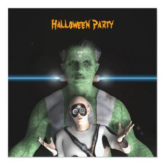 Frankenstein - Halloween Party Invitation