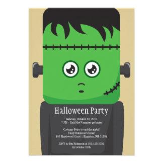 Frankenstein Halloween Party Invitation