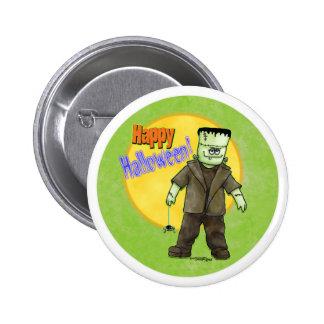 Frankenstein Halloween Pins