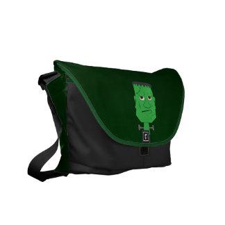 Frankenstein Handbag in Green Messenger Bag
