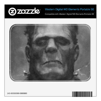 Frankenstein Hard Drive Skin WD Elements SE Skins