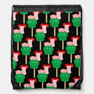 Frankenstein Ice Block Drawstring Bags