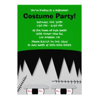 Frankenstein Kids Halloween Party Invitation