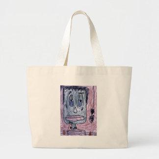 Frankenstein Large Tote Bag