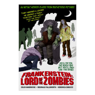 Frankenstein: Lord of the Zombies Poster