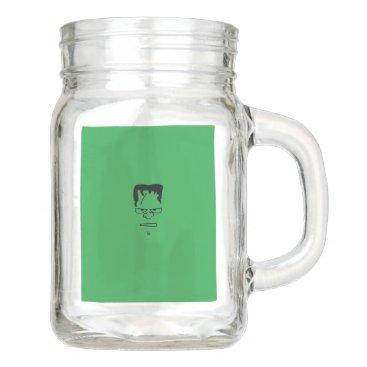 Frankenstein Mason Jar