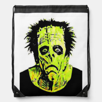 Frankenstein Modern Drawstring Backpack