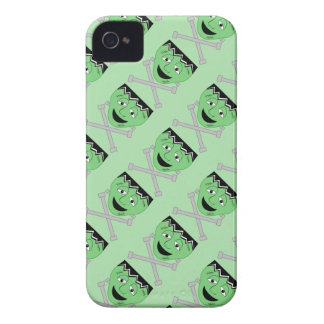 Frankenstein Monster Face And Crossbolts iPhone 4 Case-Mate Cases
