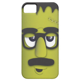 Frankenstein Monster in Disguise Funny Mustache iPhone 5 Covers
