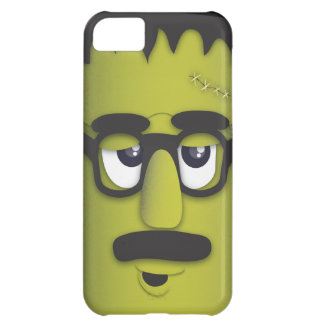 Frankenstein Monster in Disguise Funny Mustache Case For iPhone 5C