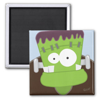 Frankenstein Monster Kids Halloween Magnet