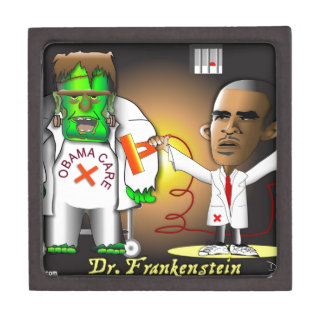 Frankenstein Monster Premium Keepsake Boxes