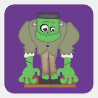 Frankenstein Moster Sticker