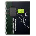 Frankenstein note book