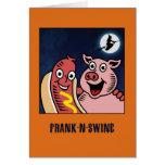 Frankenstein Parody Funny Halloween Cards