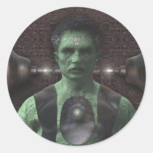 Frankenstein - pegatinas de Halloween