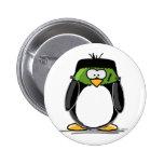Frankenstein Penguin 2 Inch Round Button