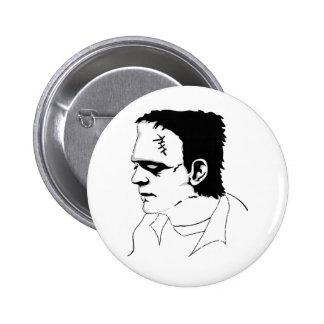 Frankenstein Pin Redondo 5 Cm