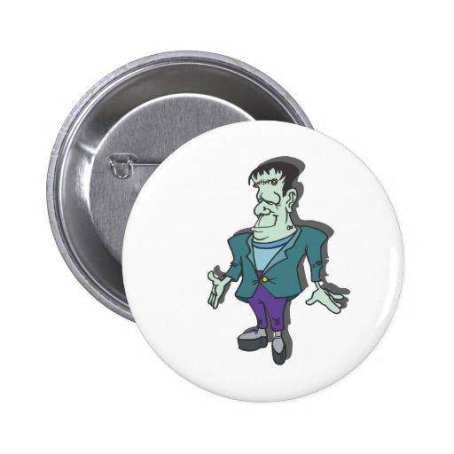 Frankenstein Pinback Buttons