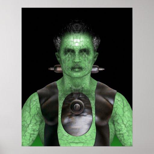 Frankenstein - poster de Halloween