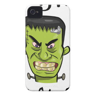 Frankenstein pumpkin spice iPhone 4 case