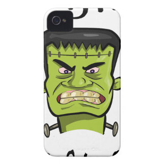 Frankenstein pumpkin spice iPhone 4 Case-Mate case