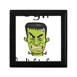 Frankenstein pumpkin spice keepsake box