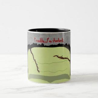 Frankenstein Pun Halloween Mug
