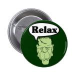 Frankenstein relaja el botón pins