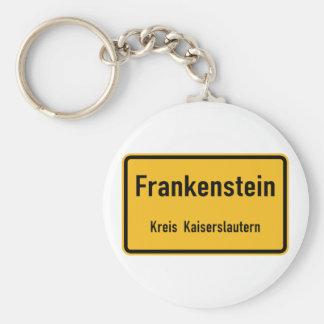 Frankenstein, señal de tráfico de Alemania Llaveros Personalizados