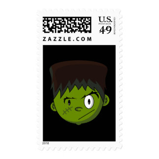 Frankenstein Teen Terror Postage Stamp