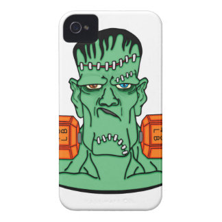 Frankenstein under weights iPhone 4 case