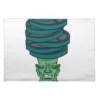 Frankenstein under weights placemat